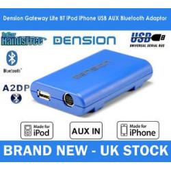 Dension Gateway Lite BT MKII iPod és USB interface Bluetooth QUADLOCK