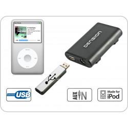 Dension Gateway Lite 3 iPod és USB interface SEAT autókhoz QuadLock csatlakozóval