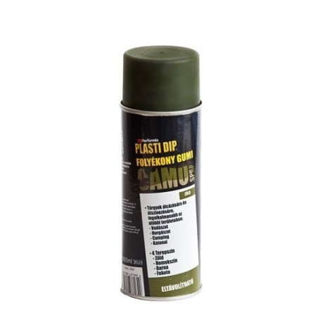 Plasti Dip matt camo zöld spray