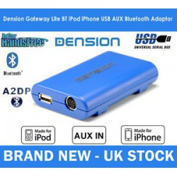 Dension Gateway Lite BT MKII iPod és USB interface Bluetooth Mini ISO