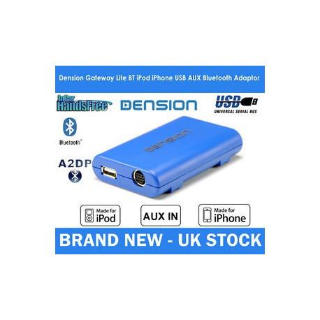 Dension Gateway Lite BT MKII iPod és USB interface Bluetooth Mini ISO