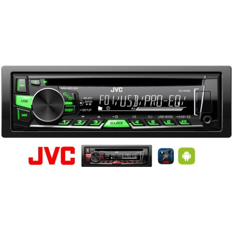 JVC KD-R469 MP3/CD rádió USB-vel