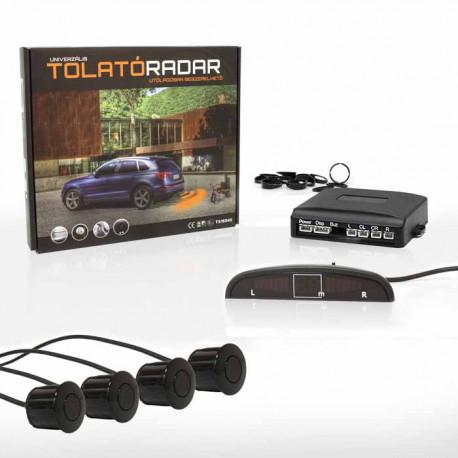 LED kijelzős tolatóradar (4 szenzor, hangszóró