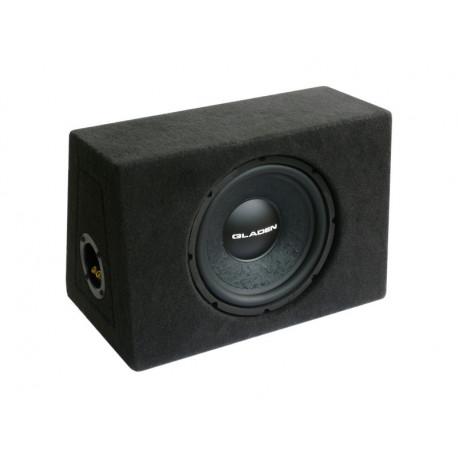 Gladen Audio ALPHA 10 ZD 25-ös zárt mélyláda