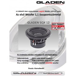 Gladen Audio SQX 12 30-as subwoofer