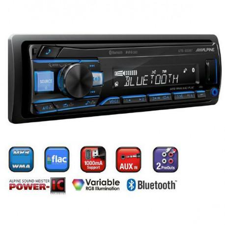 Alpine UTE-200BT Bluetooth Autórádió
