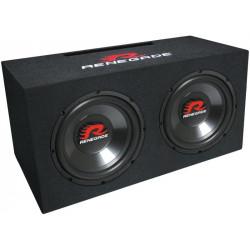 Renegade RXV 1002 1000W/500W Dupla Bass-Reflex mélyláda